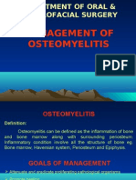 Management of Osteomyelitis Oral Surgery