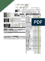 Ficha D&D 3.5 Druida