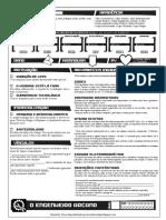 Manual de Classe - Engenheiro Arcano