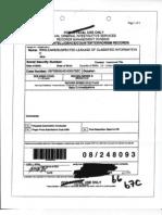 NCIS Wikileaks Records