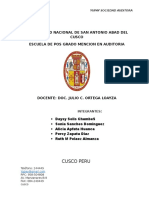Auditoria Ambiental-san Nicolas de Bari