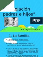 Relación padres e hijos