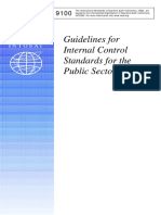 INTOSAI GOV 9100 - Guidelines for Internal Control Standards for the Public Sector