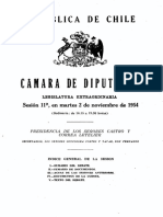 Chile - CÁMARA DE DIPUTADOS - LEGISLATURA EXTRAORDINARIA - Sesión 11ava, en martes 2 de noviembre de 1954