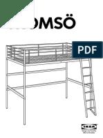 Instrucciones Ikea Tromso Loft Bed