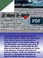 Grafite, muralismo e pichações