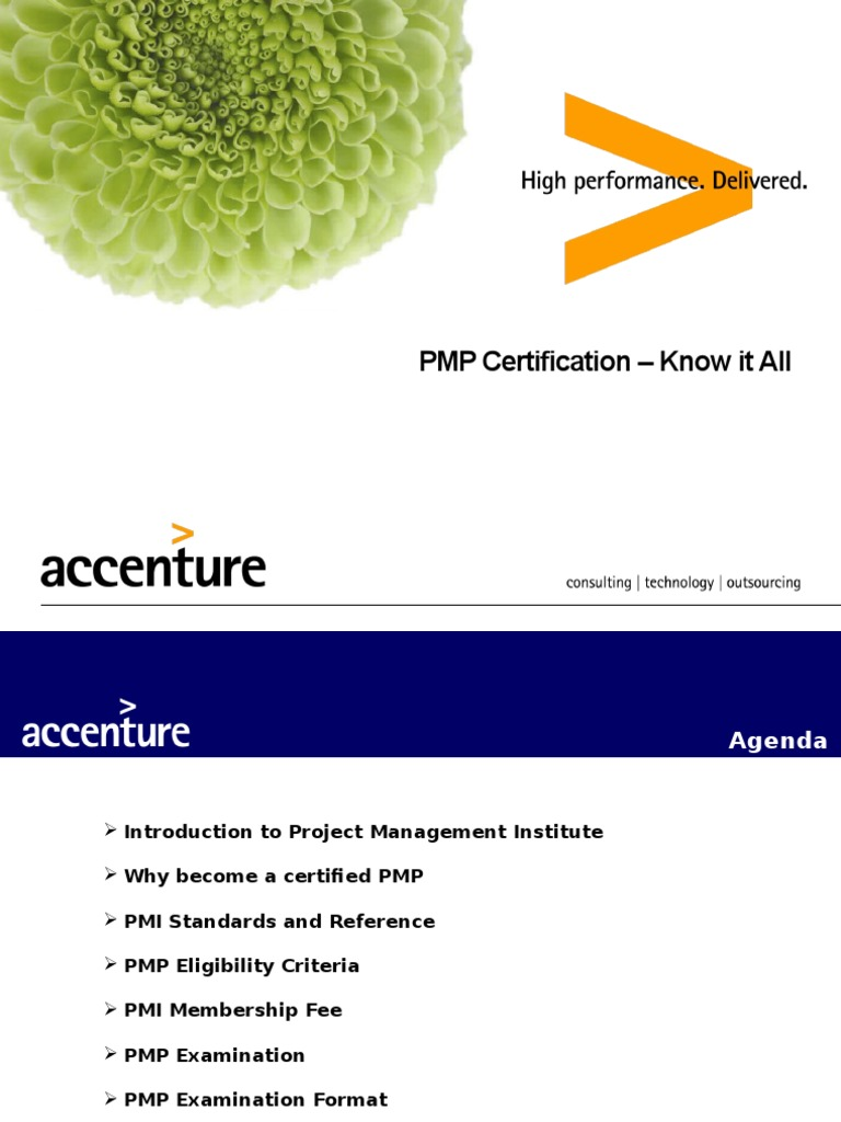 Pmp Certification Know It All Professional Certification