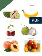 Frutas en Kiche