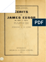 Écrits de James Ensor