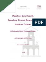 Antropología Del Turrismo