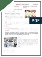 MEDIOS DE COMUNICACIÓN Clase 1