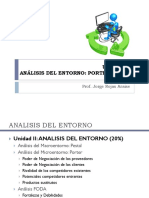Unidad II Analisis Del Entorno2 (Porter y FODA) 2014.20