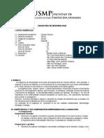 Silabo de Microbiologia 2016-II
