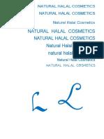 Natural Halal Cosmetics