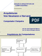 Arquitetura Von Neumann e Harvard