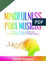 Mindfulness Para Musicos_ Mejor - David Alvarez