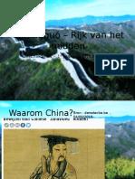 china 1e jaar - schrift  zonder ff