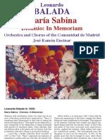 Dionisio in Memoriam - María Sabina