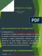 Bioseguridad en Cirugía