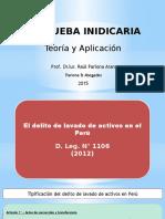Curso - La prueba Indiciaria  y Lavado de Activos - 16.05.15.pptx