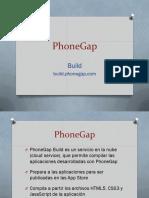 PhoneGap 5 - Build