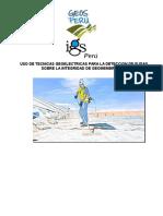 Uso de Tecnicas Geoelectricas Para La Deteccion de Fugas Sobre La Integridad de Geomembranas en Mineria