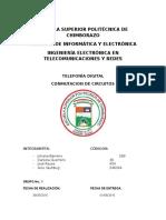 Informe Conmutacion de Circuitos