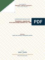 Tesis Sobre Habermas. Psicologia Popular
