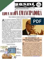 Kgosni 205-Educacion Emancipadora