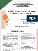 Presentacion Planta Procesadora de Maiz Final