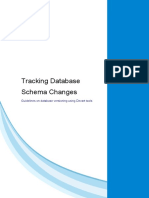 Tracking Database Schema Changes