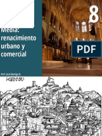 El comercio en la edad media y el surgimiento de las ciudades y burguesia