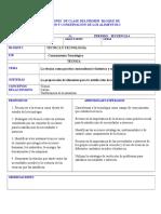 Secuencia 4 preparacion y conservacion de alimentos