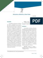 Educación a Distancia y Paulo Freire