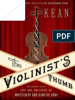 Violinist's Thumb_ and Other Lost Tales of Love, War, A Genius, As Written by Our Genetic Code, The - Sam Kean