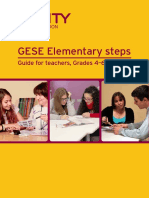 GESE Elementary Steps - 4,5 & 6 -36 PAGES