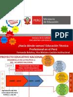 Primera Exposición Los Proyectos de Promoción de La Educación Técnica Del Ministerio d