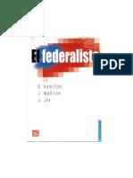 El Federalista- X