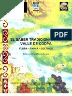 El Saber Tradicional del Valle de Codpa-Flora,Fauna y Cultivos - Texto Sistemático-2006