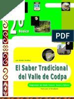 El Saber Tradicional Del Valle de Codpa-Texto Estudiante - 2006