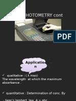 Absorption Spectrum of Potassium Dichromate (2)