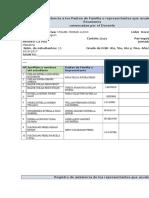 Registro de Asistencia a Los Padres de Familia SALANGO