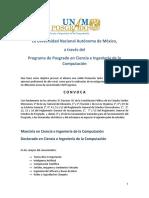 Convocatoria Computacion Extensa 2014