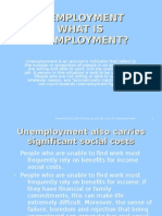 Unemployment History and the future Researched