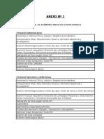 Protocolo de Examenes Medicos