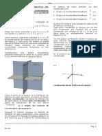 Sesion 01 y Sesion 2 - Sistema de Coordenadas en El Espacio - Teoria (1)Con Solucionario