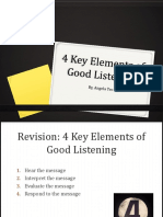 Effective Listening 4