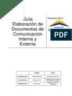 1. Gua Elaboracin de Documentos de Comunicacin Interna y Externa