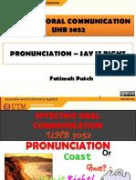 pronunciation say it right