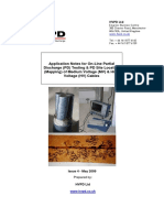 HVPD Technical Document for on Line PD Testing of MV HV Cables May 2009